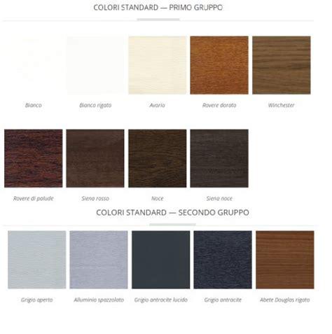 colori persiane persiane in alluminio colori