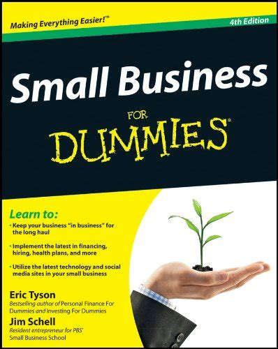 Mba For Dummies Pdf by Small Business For Dummies 4th Edition Mantesh
