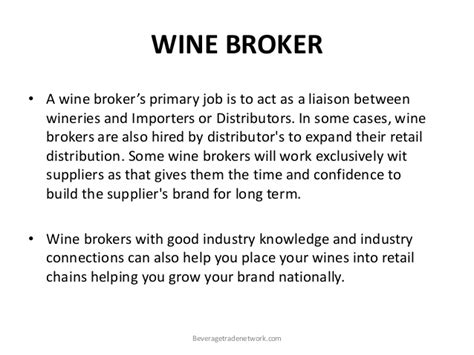 wine brokers