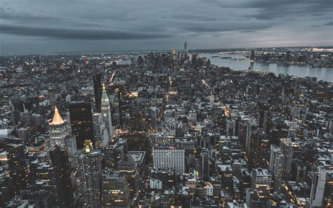 ns unsplash city sky newyork building nature wallpaper