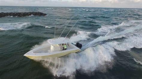 boat sinks in jupiter inlet jupiter inlet entry open fish youtube