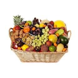 fruit baskets festive fruit basket healthy fruits gogofruitbasket