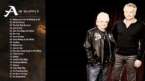 air sog air supply greatest hits playlist best songs of air