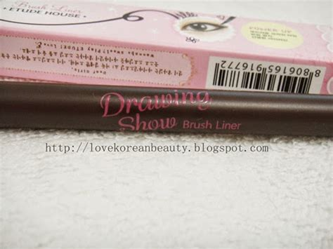 Eyeliner Berbentuk Spidol korean review etude house drawing show brush liner br401