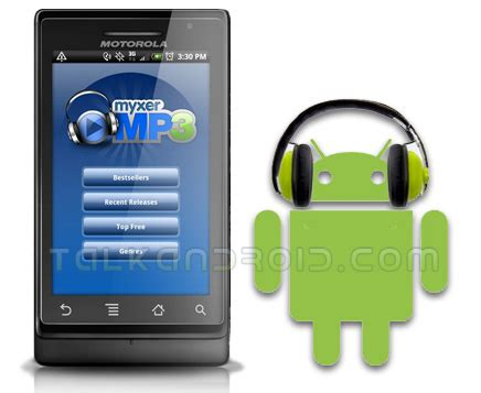 myxer app for android myxer mp3 comes to android market talkandroid