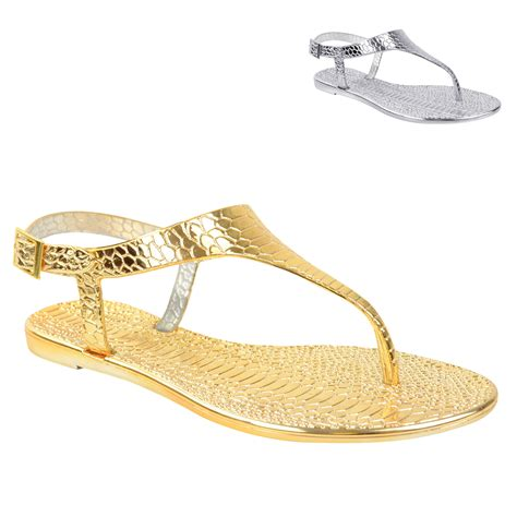 jelly sandals new womens summer jelly sandals flip flops