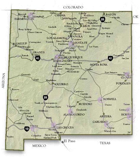nm map rebekah assembly of nm map of lodges