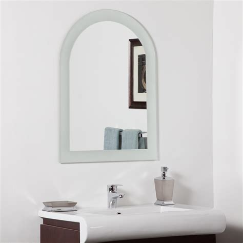 decor wonderland amelia modern bathroom mirror beyond stores decor wonderland serenity modern bathroom mirror beyond