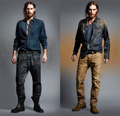 Denim Barn Jacket Diesel 2013 2014 Fall Winter Preview Mens Collection