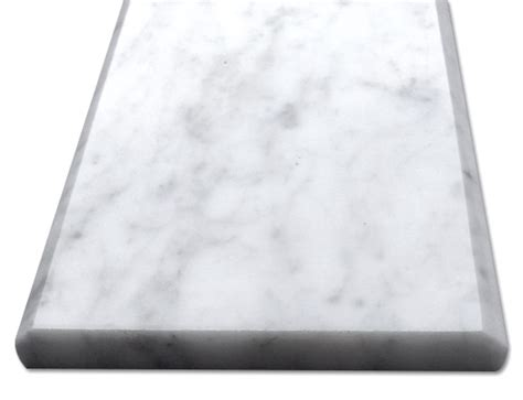 carrara bianco 6x36 threshold saddle honed
