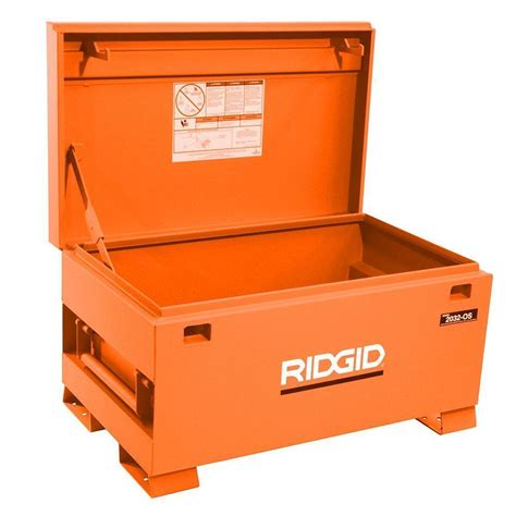 Home Depot Heavy Duty Small Box Ridgid Portable Steel Tool Box Storage Chest Cabinet Truck