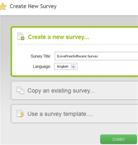 Free Survey Creator - surveymoz free online survey creator