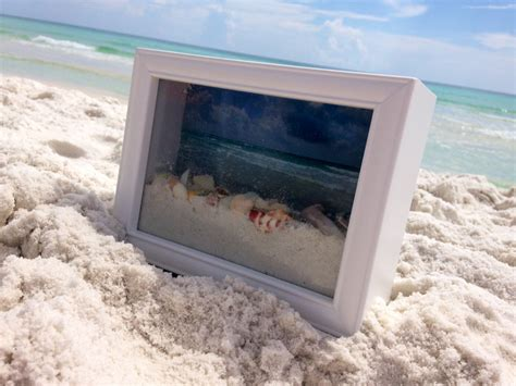 Seashell Bathroom Ideas Ocean View Shadow Box Southern Couture