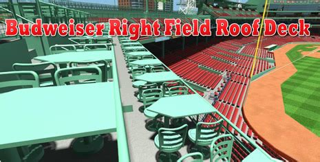 sox standing room tickets budweiser right field roof deck tickets right field roof deck seats
