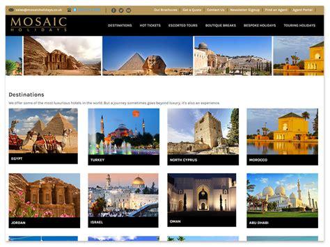 mosaic holidays uk travel company ebb tide solutions