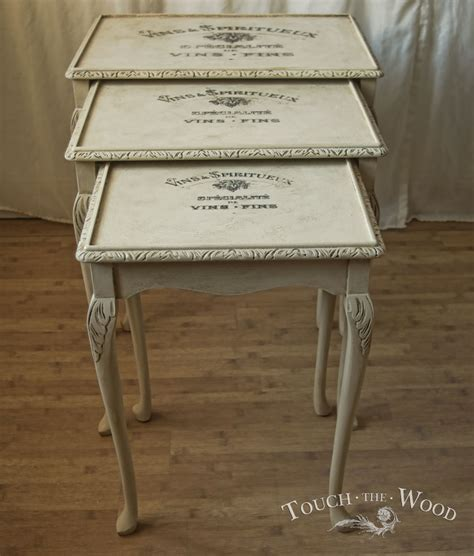 chalk paint nest of tables hometalk painting miss s clipboard on hometalk