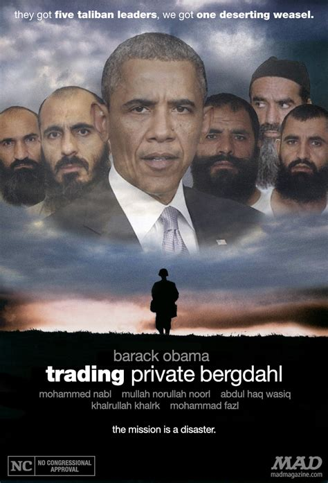 foreigner bo film mad magazine blasts obama with trading private bergdahl