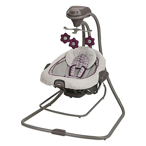 graco soothing vibrations swing buy graco 174 duetconnect lx swing bouncer in nyssa from