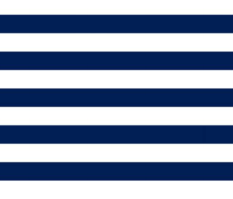 Stripes Navy big navy horizontal stripes fabric feathersflights