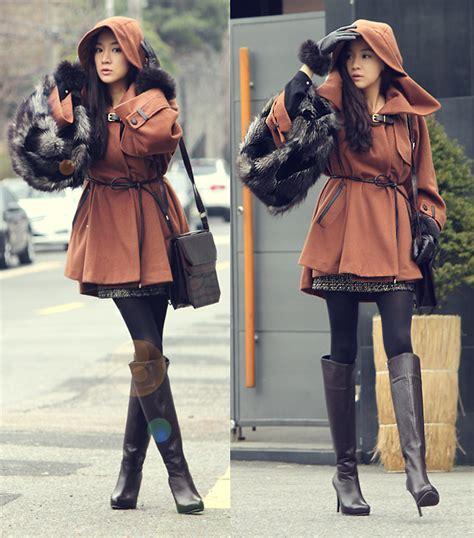 Becky Korean Bag becky baek brown cape coat brown shoulder bag
