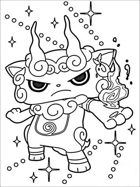 yo kai watch coloring page yo kai watch coloring pages 2 yo kai watch 요괴워치 pinterest