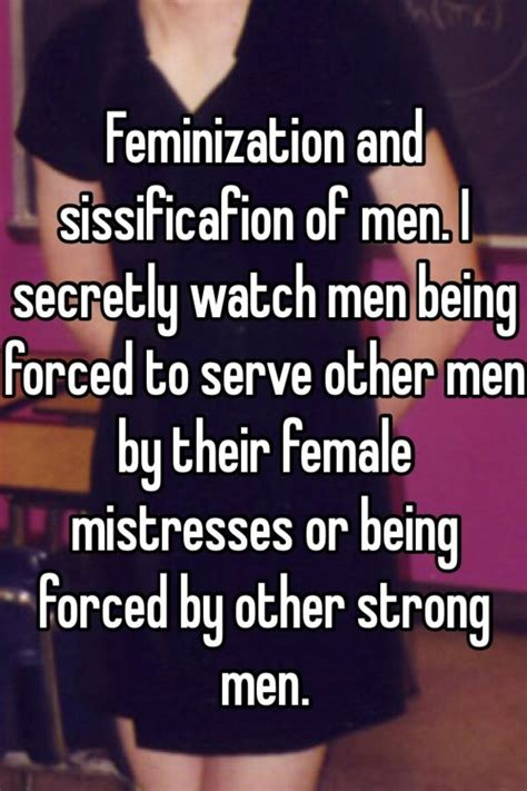 Males Feminized By Other Males | feminization and sissificafion of men i secretly watch