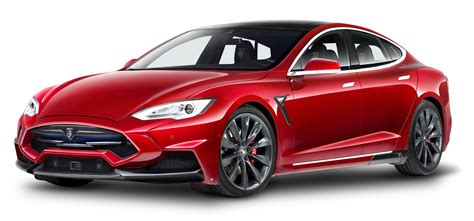 tesla png tesla model s red car png image pngpix