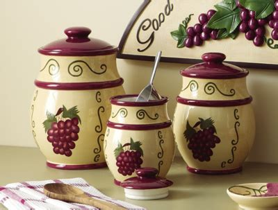 wine kitchen canisters collections etc find unique gifts at