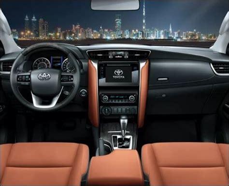 interior new fortuner 2018 2018 toyota fortuner interior images primary car