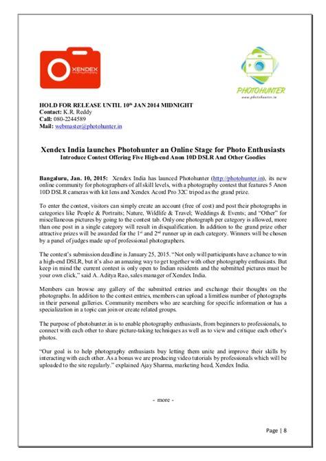 sle press release
