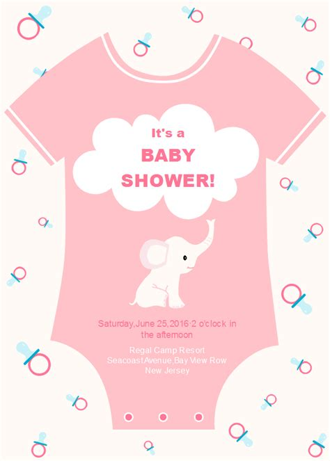baby onesie template for baby shower invitations onesie baby shower invitation free onesie baby shower