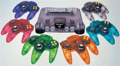 nintendo 64 colors n64 controller colours videogame style colour