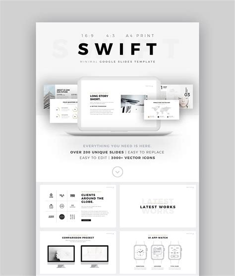the best new presentation templates of 2017 powerpoint