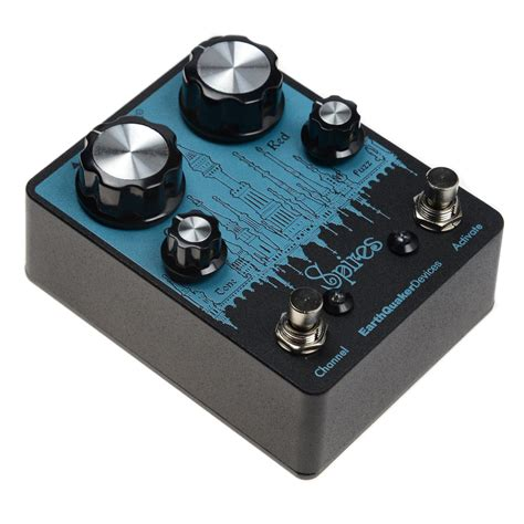 earthquaker devices earthquaker devices spires double fuzz chicago music