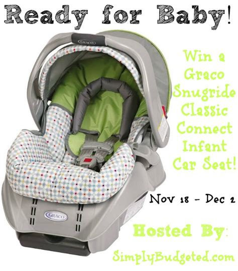 Carseat Giveaway - graco infant car seat giveaway crazy adventures in parenting