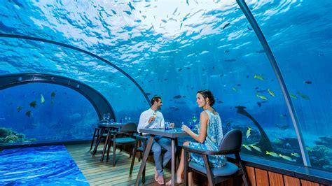 maldives ithaa underwater restaurant overwater villa 5 8 undersea restaurant maldives underwater restaurant