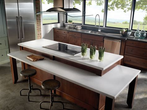 Table Height Kitchen Island by Cucina Arredamenti Decian