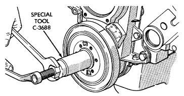 How To Remove Crankshaft Pulley 2009 Kia Borrego Belts