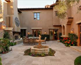Spanish Style Homes With Interior Courtyards by Casas Mediterr 225 Neas Fotos Arkiplus