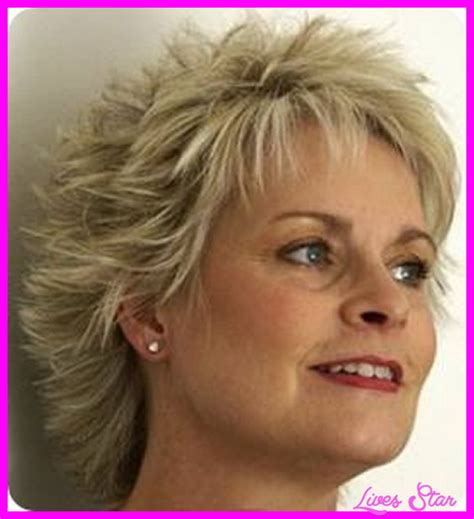 hair cuts for thin hair 50 short hair cuts for women over with fine livesstar com