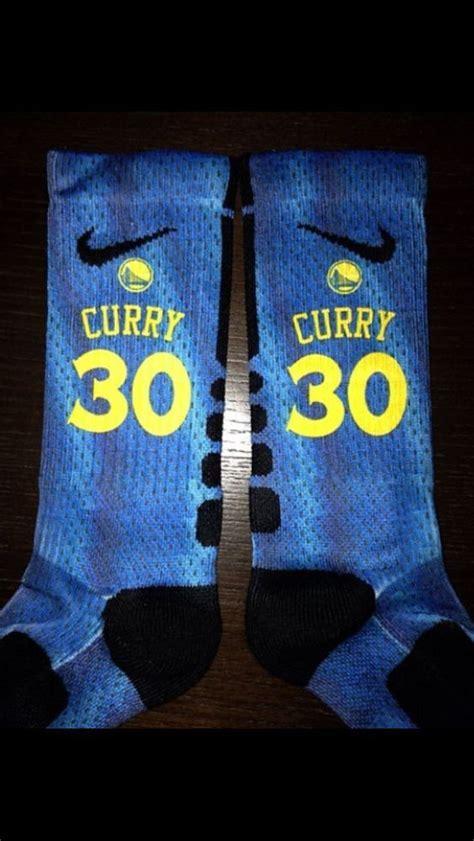Jaket Hoodie Basket Nba Golden State Warriors custom nike elite socks stephen curry golden state