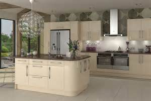 Cream Gloss Kitchen Ideas by Cream Gloss Kitchens On Pinterest High Gloss Kitchen