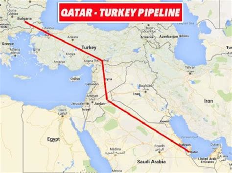Arbiah Syari syrian war explainer is it all about a gas pipeline