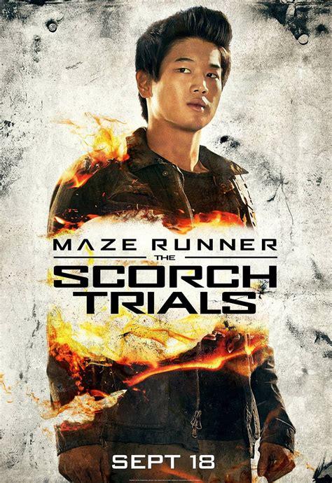 maze runner the scorch trials maze runner the scorch trials 2015 posters traileraddict
