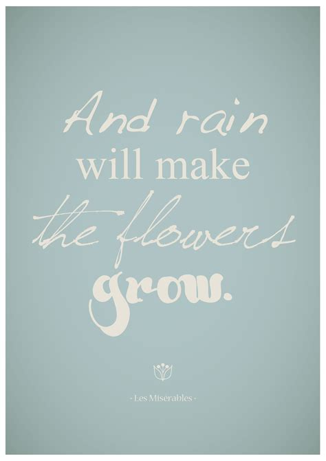 quotes  rain  flowers quotesgram