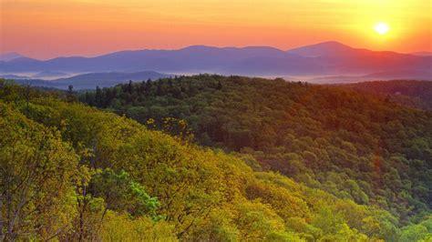 desktop wallpaper blue ridge mountains blue ridge parkway walldevil