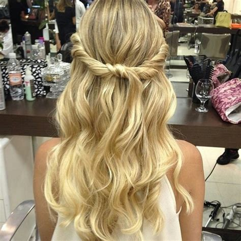curly hairstyles for long hair tied up blonde hair wrap tie pictures photos and images for