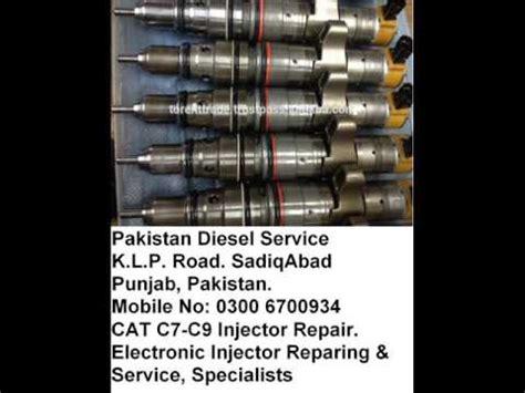 cat diesel injector heui c7 c9 youtube