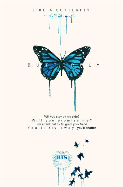 bts butterfly lyrics bts butterfly lockscreen we heart it kpop bts and