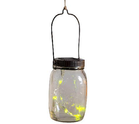 Qvc Outdoor Lighting Plow Hearth Solar Firefly Jar Decorative Outdoor Light H287035 Qvc